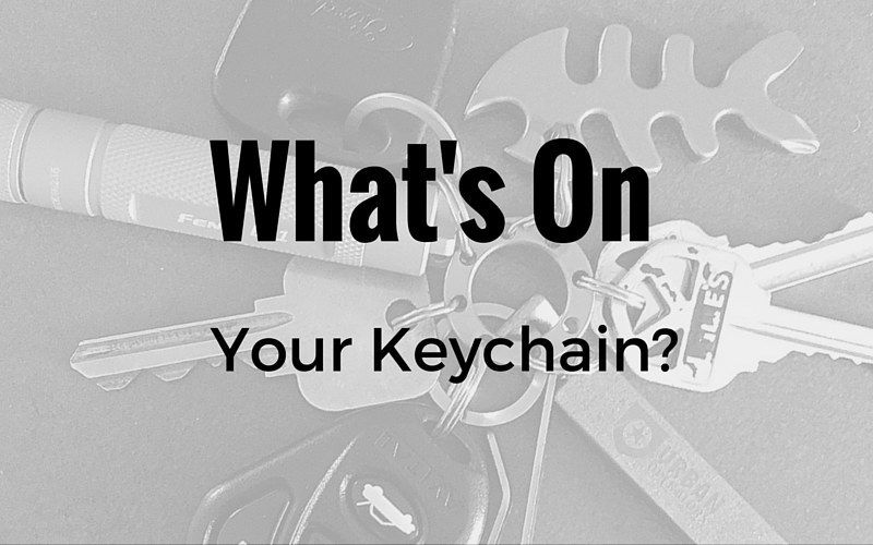 what's on your keychain?
