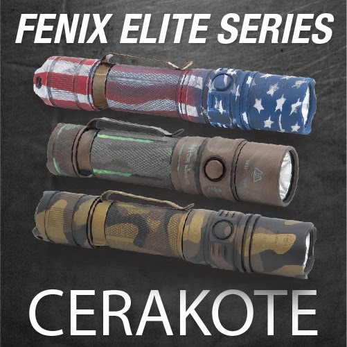 Fenix Flashlights Cerakoted