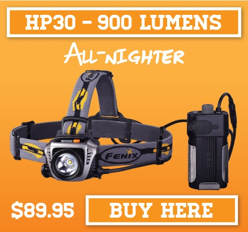 Fenix HP30 LED Headlamp