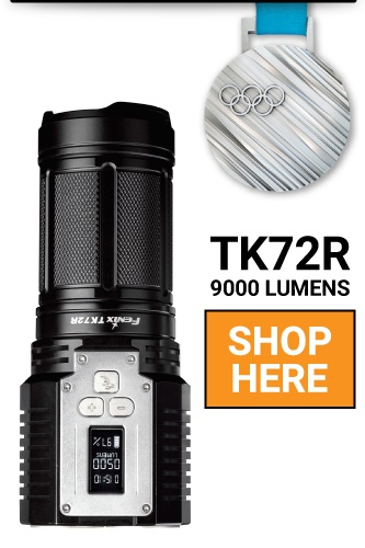Fenix TK72R LED Flashlight