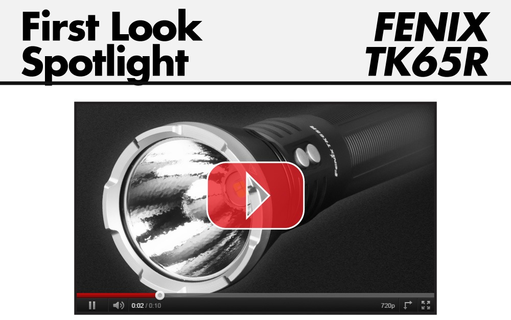 Fenix TK65R First Look Video