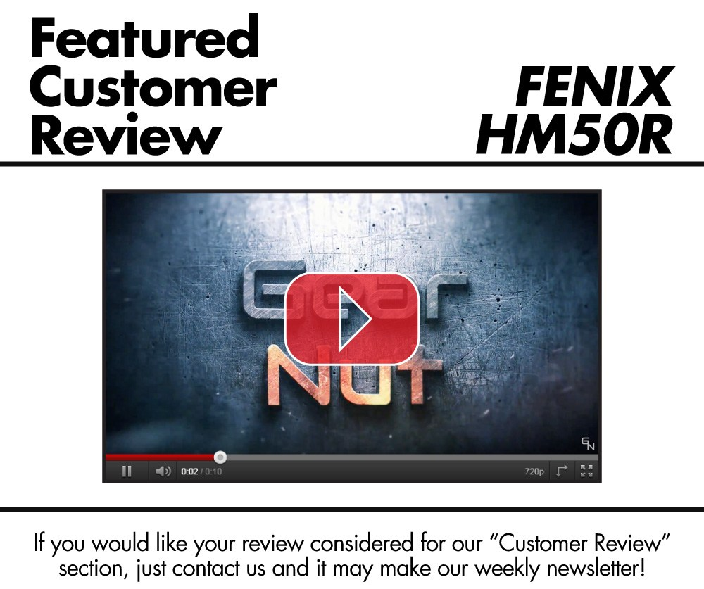 Fenix HM50R - Gear Nut Review