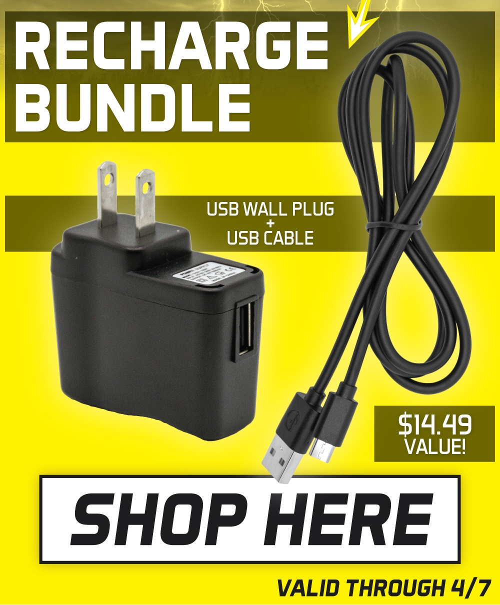 rechargeable battery bundle