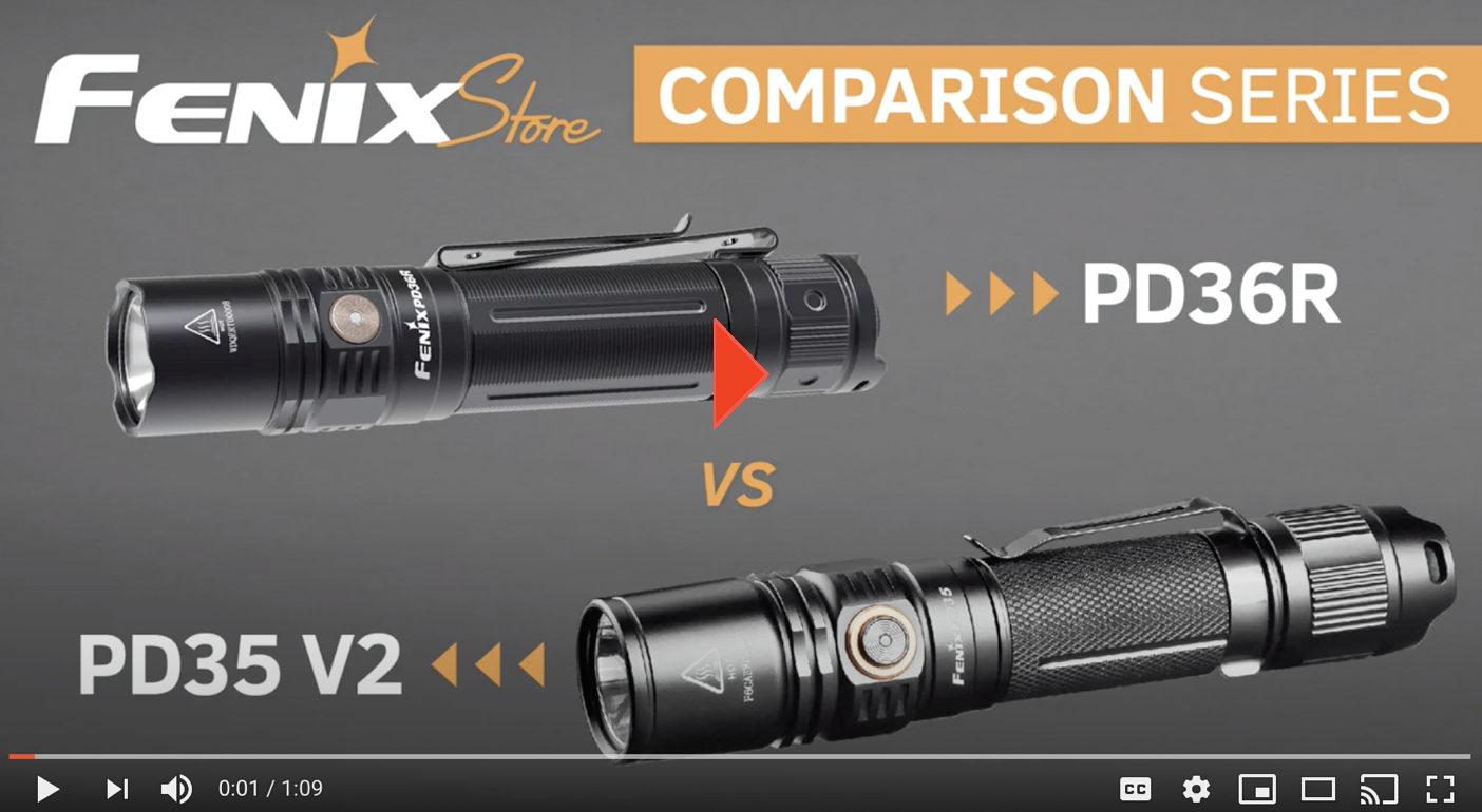 Fenix Store PD35 and PD36R