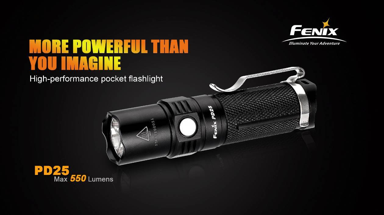 Fenix PD25 LED Light