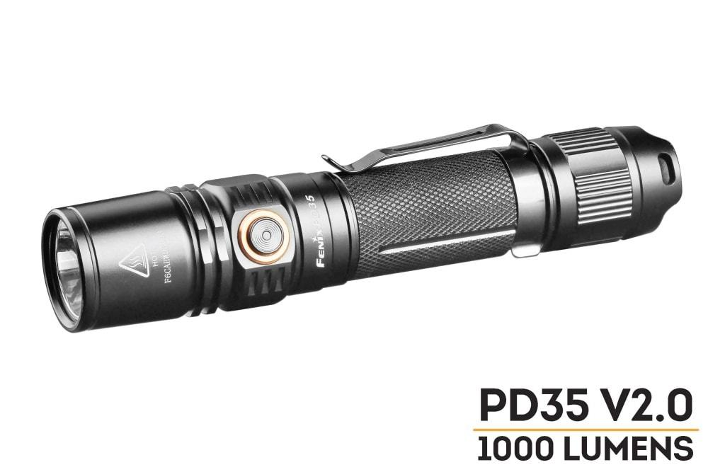 Fenix PD35 V2.0 2018 1000 Lumens Version 2