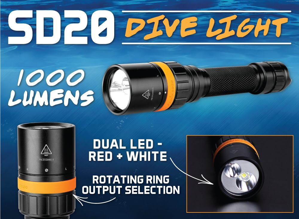 Fenix SD20 LED Flashlight