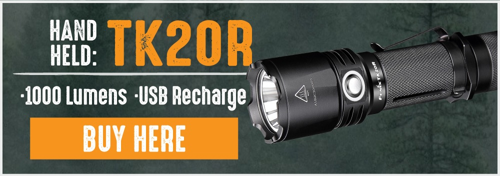 Fenix TK20R LED Tactical Flashlight
