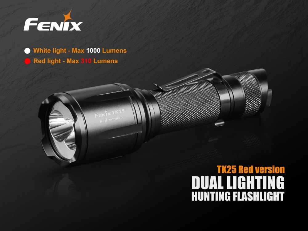 Fenix TK25 Red Version LED Hunting Flashlight
