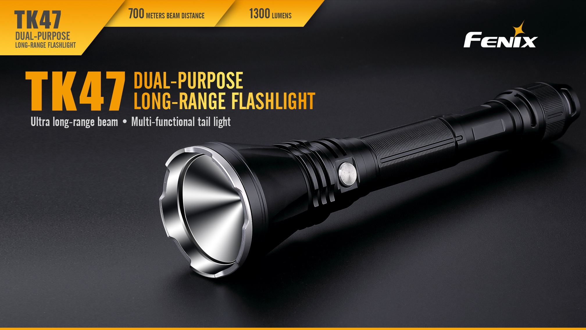 Fenix TK47 Dual-Purpose LED Flashlight Overview