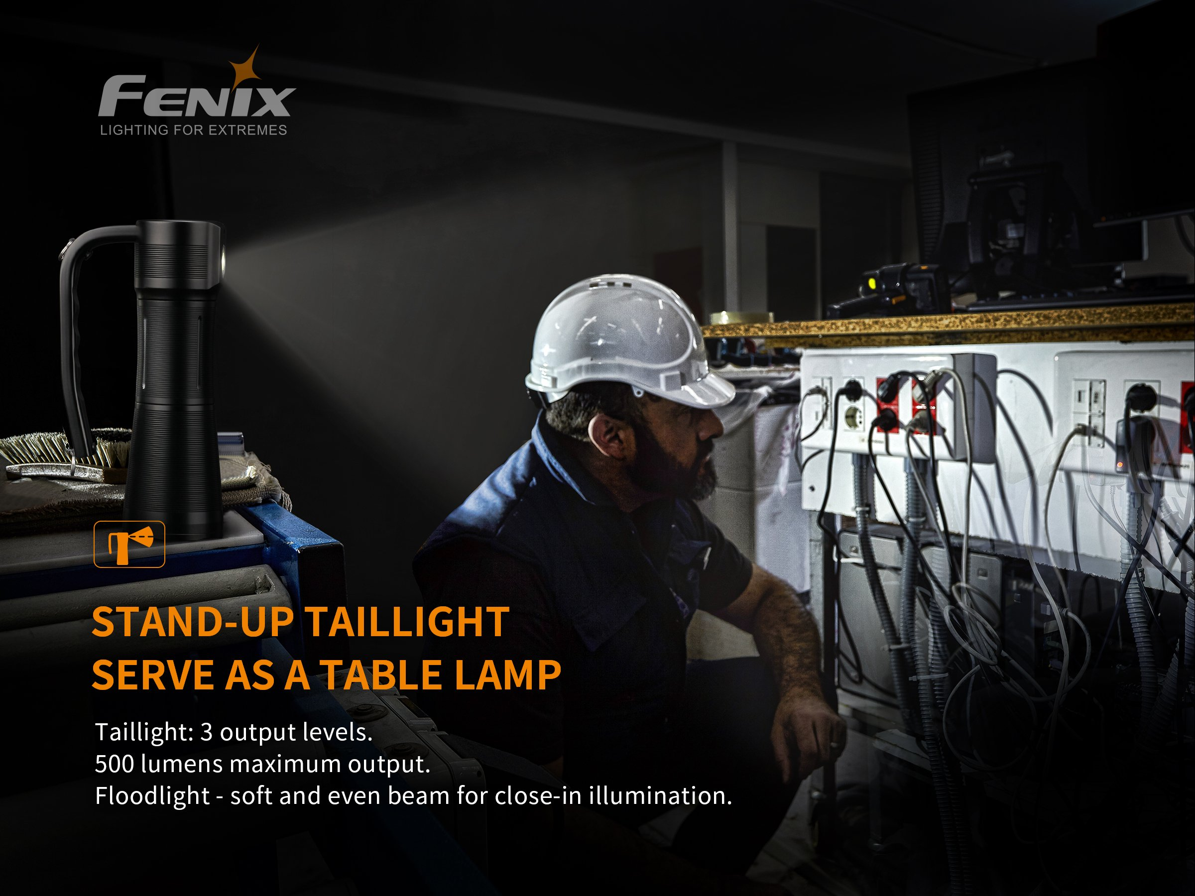 Fenix WT50R Multipurpose Handheld Searchlight